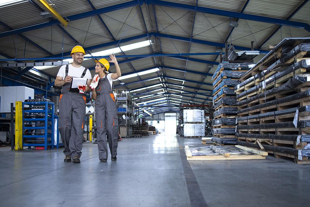 Tensostrutture per lavori edili